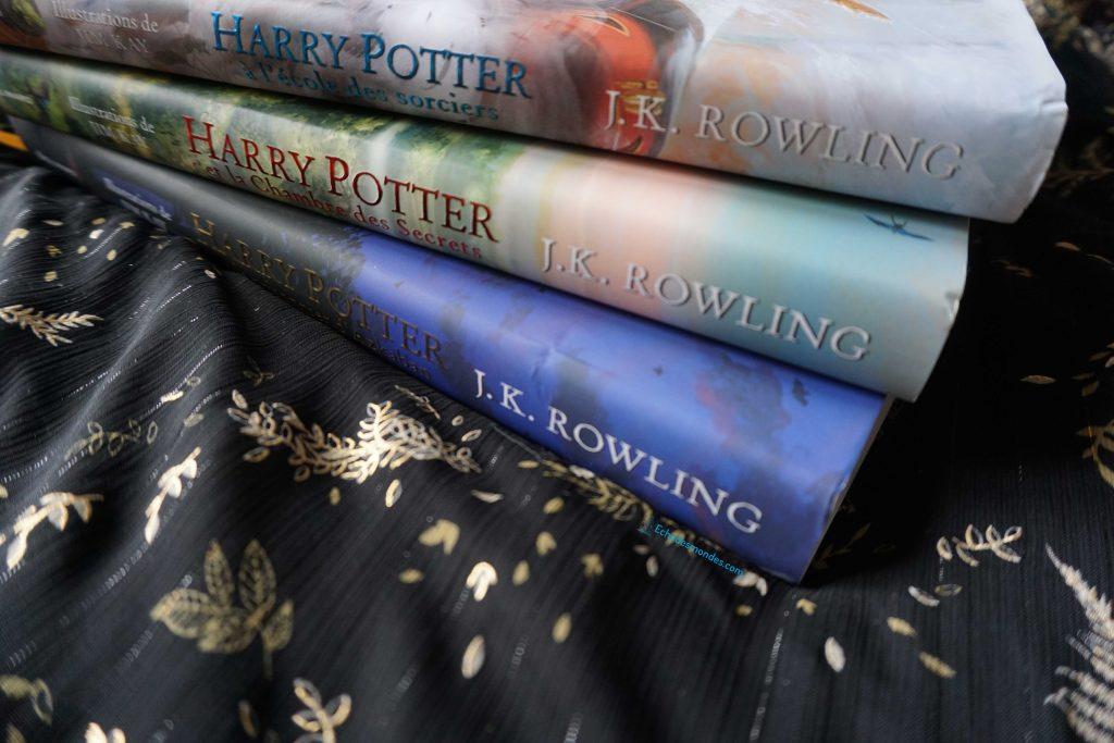 Harry potter illustrés, tome 1 à 3