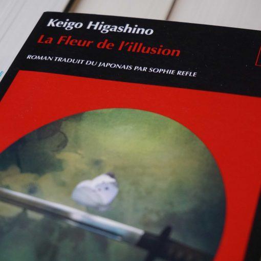 photo du roman la fleur de l'illusion par keigo higashino