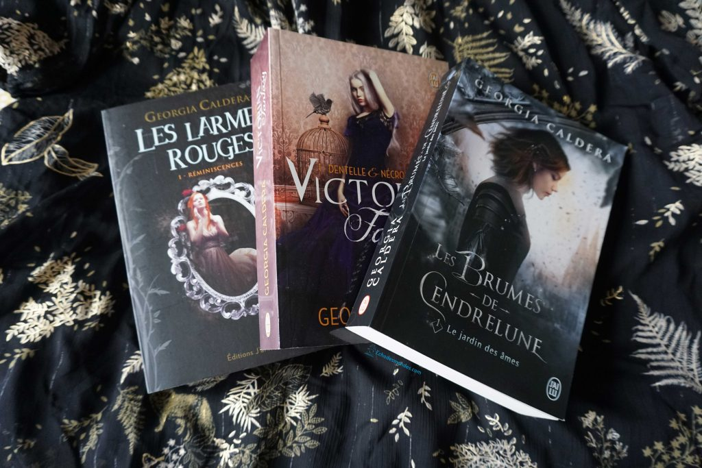 sagas fantasy par Georgia Caldera