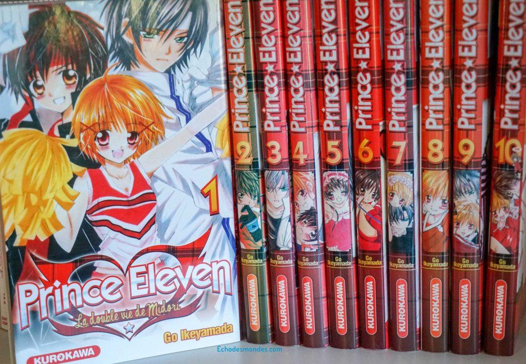 Photo de l'intégrale du manga Prince Eleven