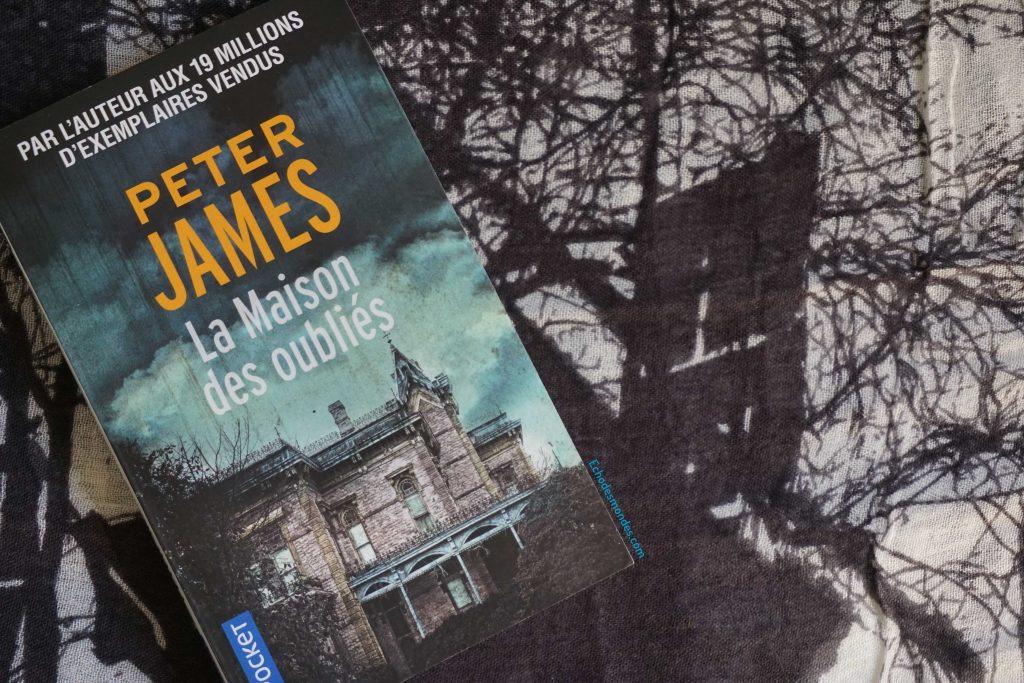 Photographie du roman - La Maison des oubliés de Peter James