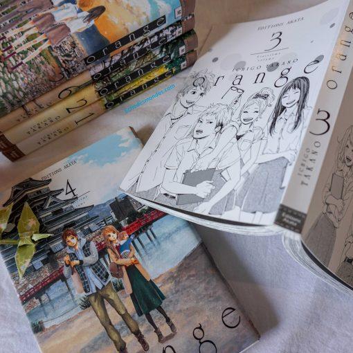 photos de l'intégrale du manga orange