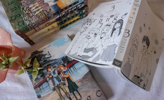 photos de l'intégrale du manga orange