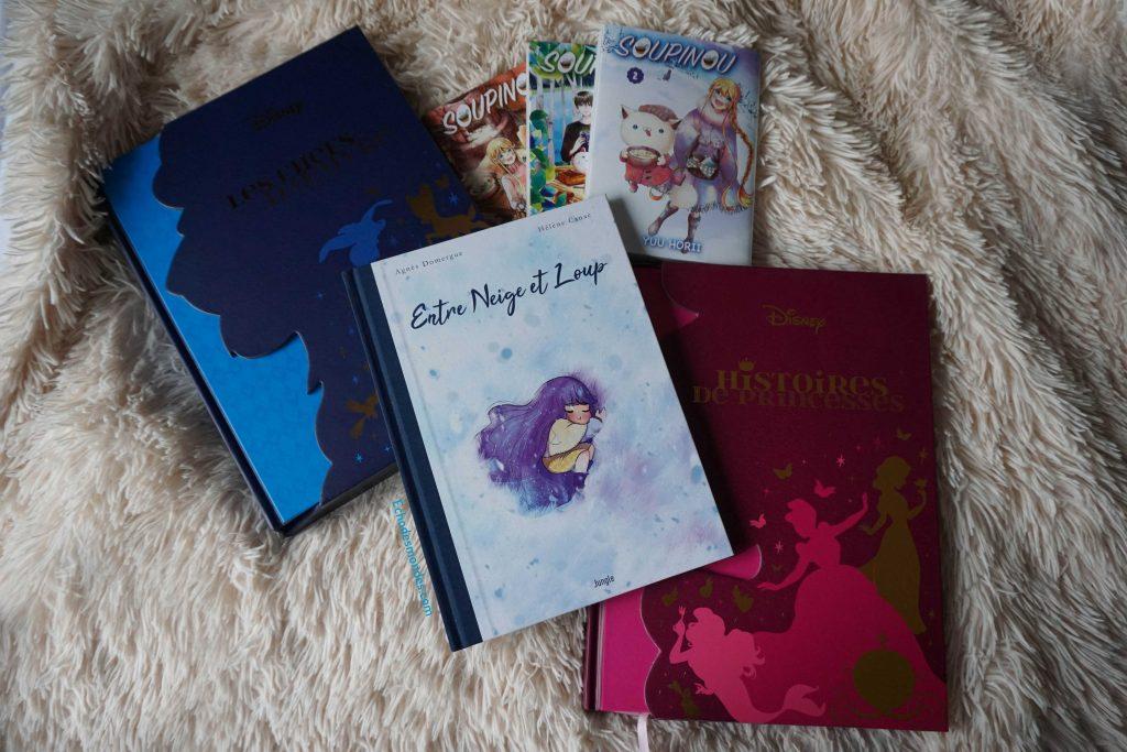 romans graphiques, bandes dessinées et mangas cosy pour l'hiver
