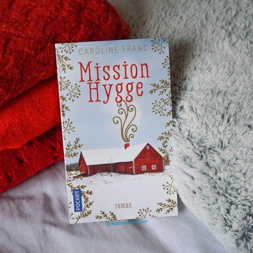 photo du roman mission hygge par caroline franc